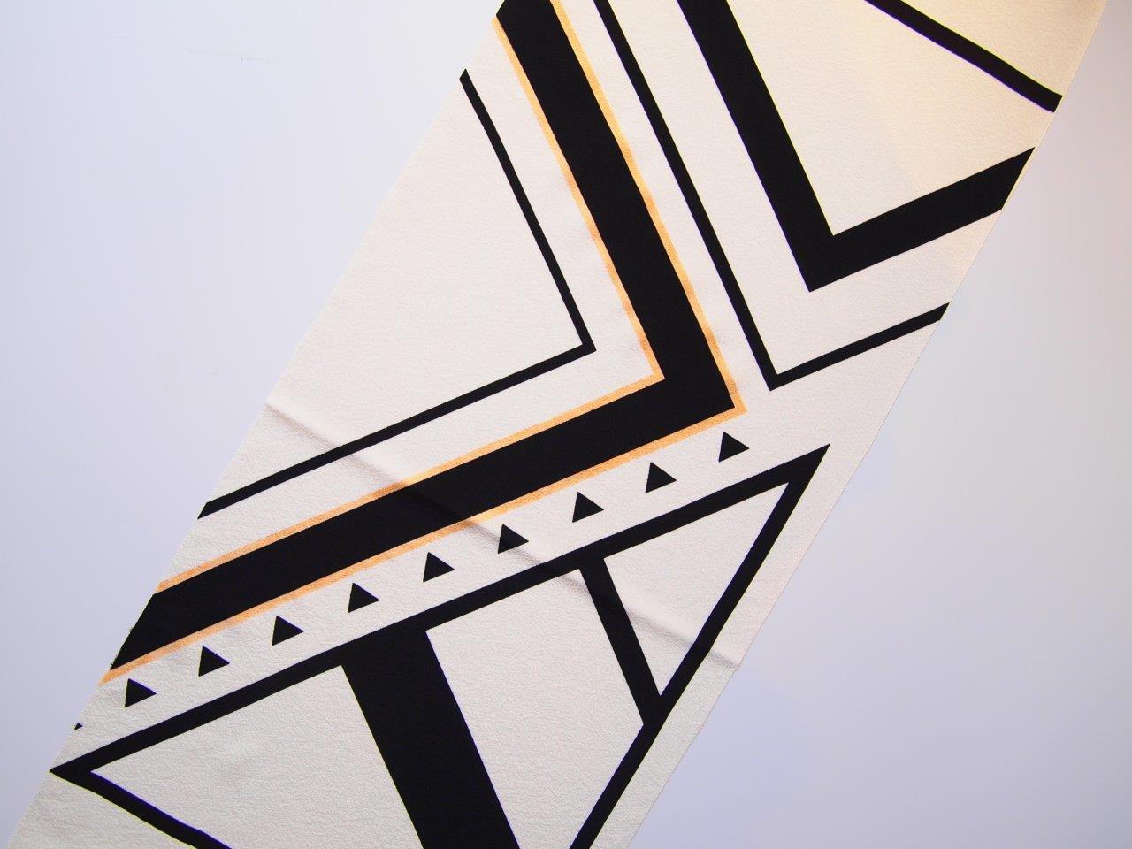 画像1: kaonn original 手染め正絹帯揚げ