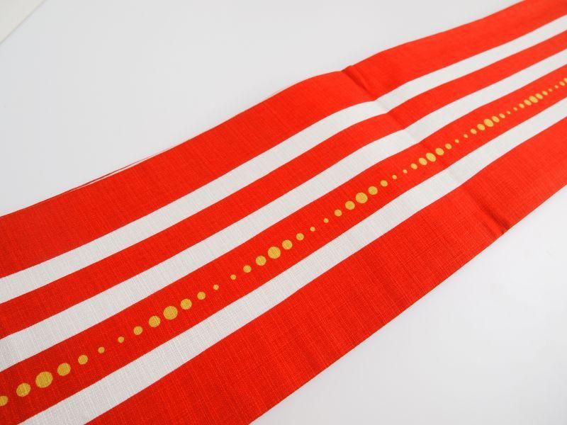 画像2: コットン半巾帯