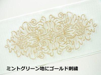 画像2: kaonn-日音衣- オリジナル 夏刺繍半衿