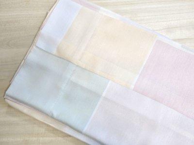画像2: 洗える正絹 長襦袢 手縫い仕立て防縮加工付