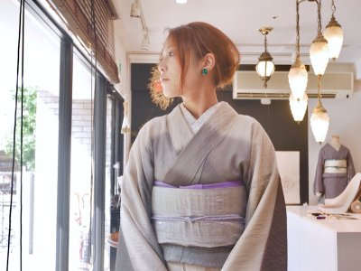 画像2: kaonnオリジナルfabric帯 mat & shine  【オーダー】