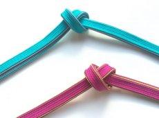 帯締め ブルー/ピンク