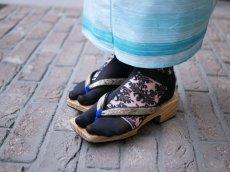 画像5: kaonnオリジナルダマスクレースラメ入り足袋 (5)