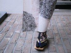 画像2: kaonnオリジナルダマスクレースラメ入り足袋 (2)
