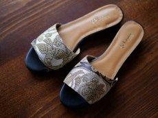画像6: kaonn original flat sandal  23.5 TYPE2 ビロード (6)