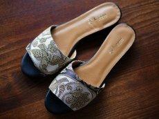 画像12: kaonn original flat sandal  23.5 TYPE2 ビロード (12)