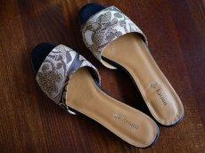 画像11: kaonn original flat sandal  23.5 TYPE2 ビロード (11)