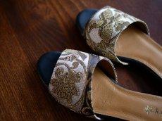 画像3: kaonn original flat sandal  23.5 TYPE2 ビロード (3)