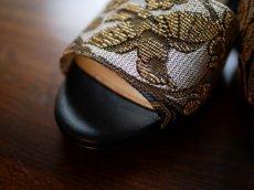 画像8: kaonn original flat sandal  23.5 TYPE2 ビロード (8)
