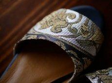 画像7: kaonn original flat sandal  23.5 TYPE2 ビロード (7)