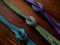 平帯締め v-stripe 正絹 小紋用 紬着物用