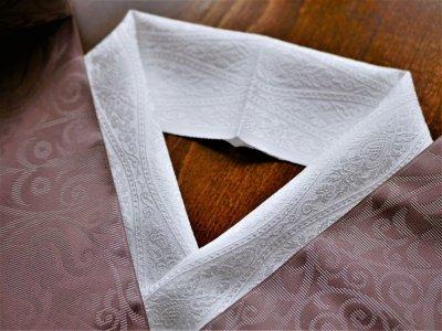 画像3: 洗える正絹半衿  arabesque