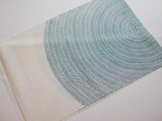画像11: 正絹帯揚げ 型染め SLASH pattern (11)