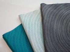 画像2: 正絹帯揚げ 型染め SLASH pattern (2)