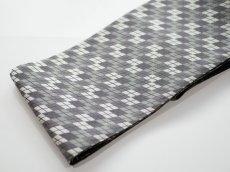 画像4: 正絹・半幅帯 西陣織 (4)