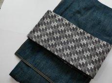 画像6: 正絹・半幅帯 西陣織 (6)