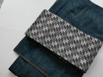 画像2: 正絹・半幅帯 西陣織