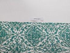画像10: 染め名古屋帯【博多織帯地】アラベスクグリーン (10)