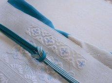 画像11: 正絹絞り雪輪帯揚げ  (11)