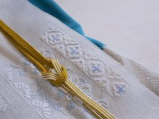 画像9: 正絹絞り雪輪帯揚げ  (9)
