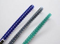 画像2: 帯締め side silver stripe (2)