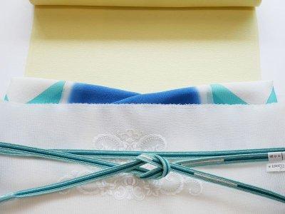 画像1: kaonn original 刺繍夏袋帯