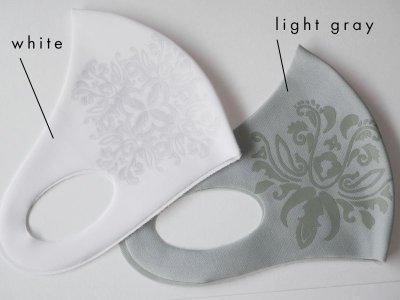 画像1: kaonn original COOL MASK  UVcut50+ light gray