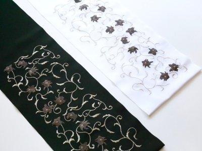 画像1: 刺繍2way半衿