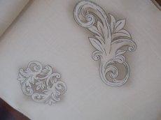 kaonnオリジナル正絹夏名古屋帯 胴を反時計周りに締めた場合、画像右上の柄がお腹の柄です。