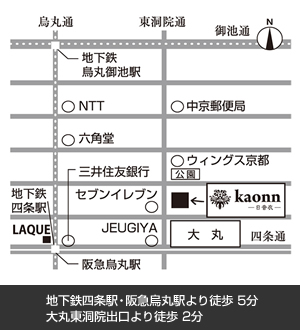 kaonnマップ