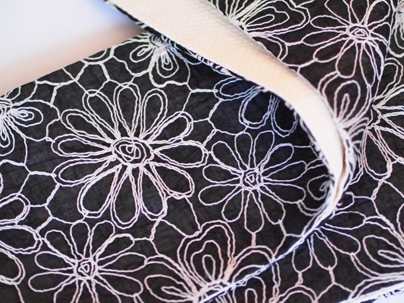 画像3: 刺繍半幅帯