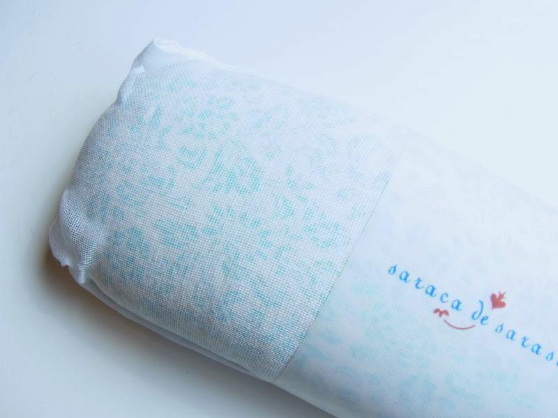画像1: 更紗柄 帯枕