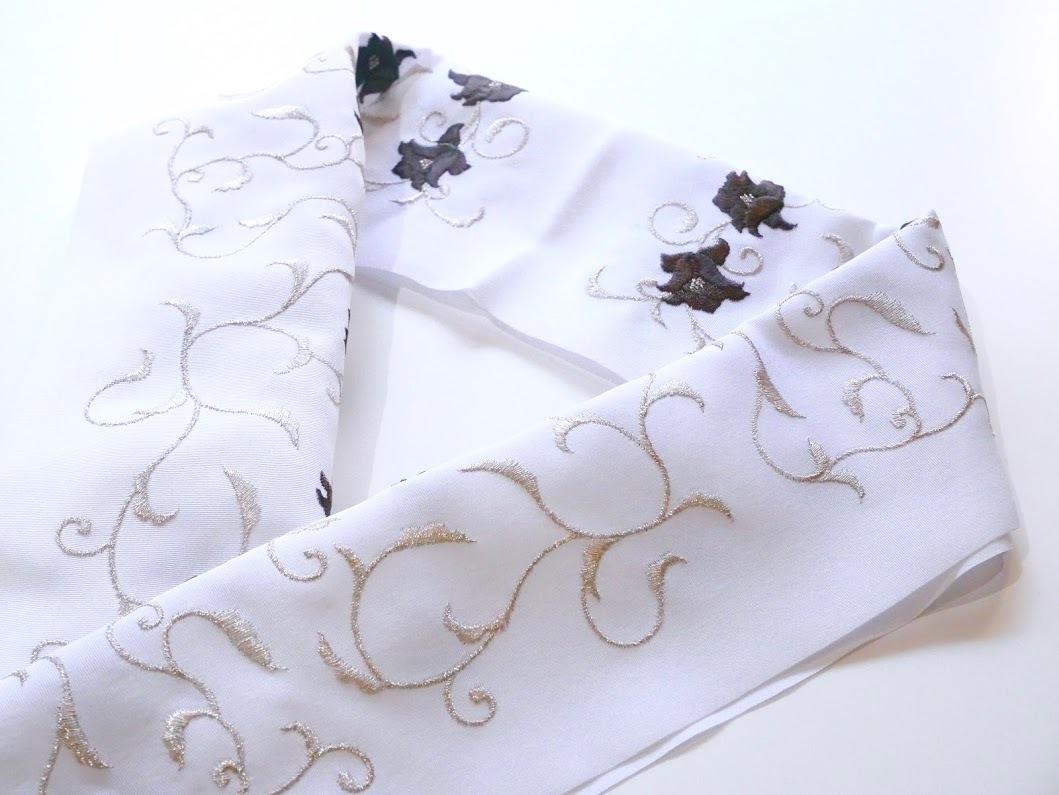 画像2: 刺繍半衿