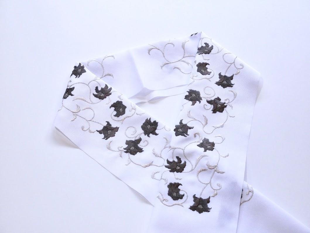 画像3: 刺繍半衿