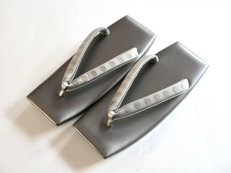 画像1: メンズ角草履(26.5cm) (1)