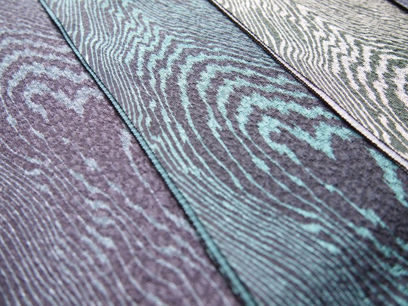 画像5: 木目模様◆正絹帯揚げ
