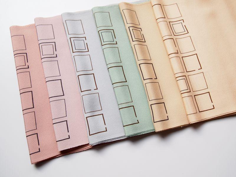 画像1: pastel block◆正絹帯揚げ