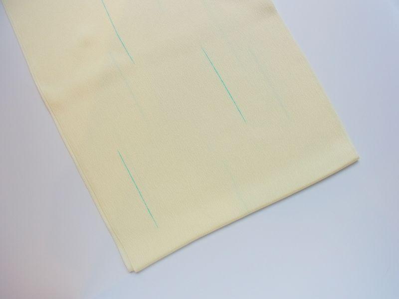 画像1: blue line◆正絹帯揚げ